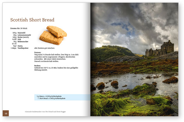 scottish short bread sample page s
